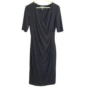 Lauren Ralph Lauren side cinch knee length dress